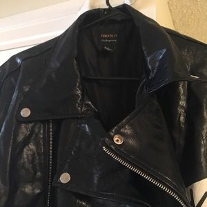 Forever 21 Contemporary - Faux Leather Jacket